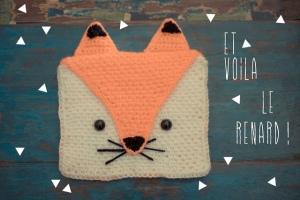 Pochette Renard au Crochet - Crédit Photo Fais le toit même