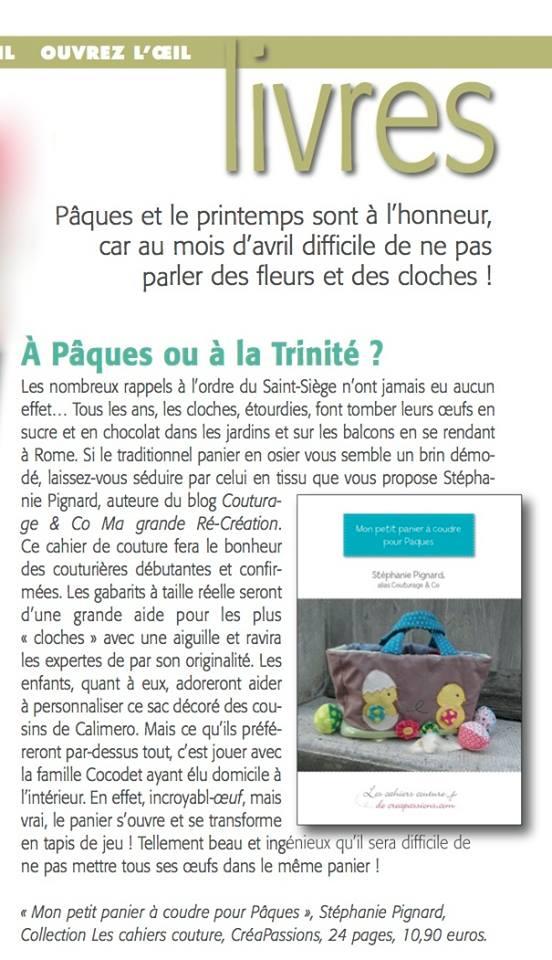 Note de Lecture Marianne Maison Avril 2015