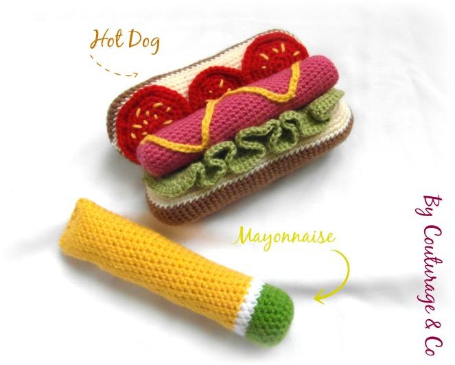 La Dinette au Crochet - Hot Dog & Mayonnaise