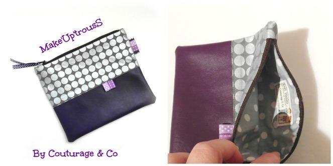 make up trouss violet argenté 2