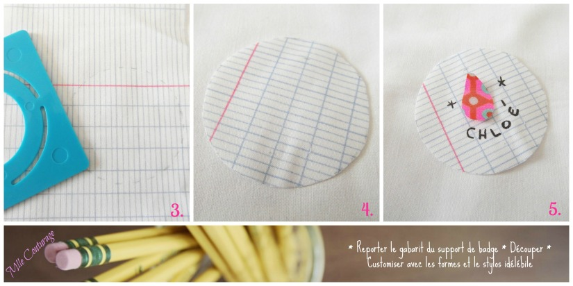 Tuoriel Badge Mlle Couturage 2 instructions