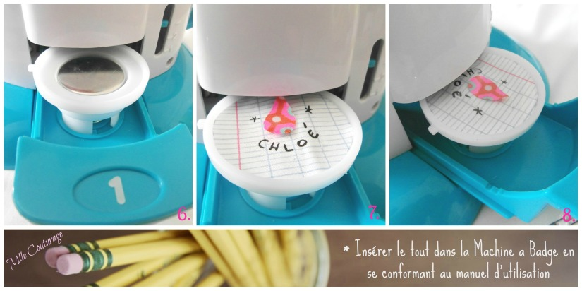 Tutoriel Badge Mlle Couturage 3 instructions
