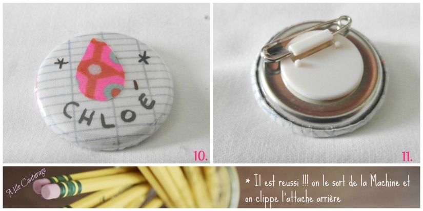 Tutoriel Badge Mlle Couturage 5 instructions